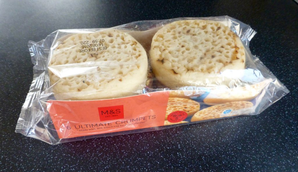 M&S Ultimate Crumpet