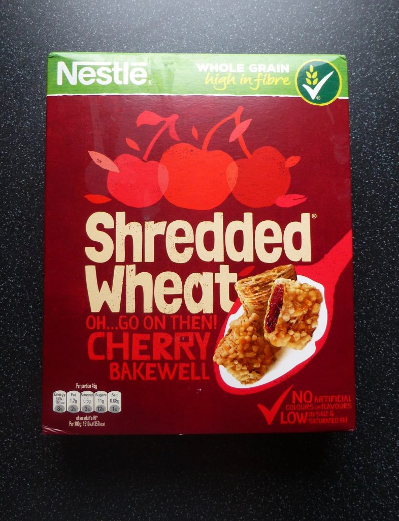 Nestle Shredded Wheat Cherry Bakewell