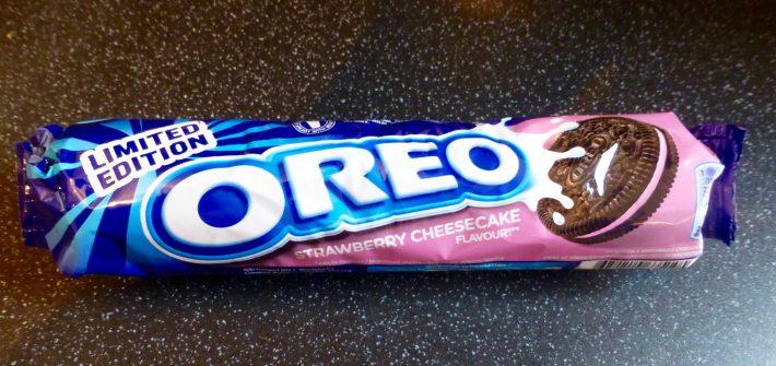 Oreo Limited Edition Strawberry Cheesecake