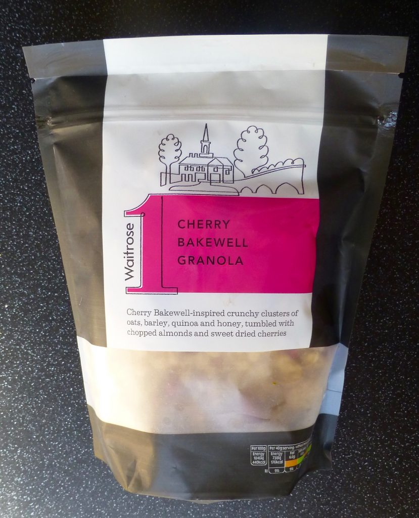 Waitrose Cherry Bakewell Granola