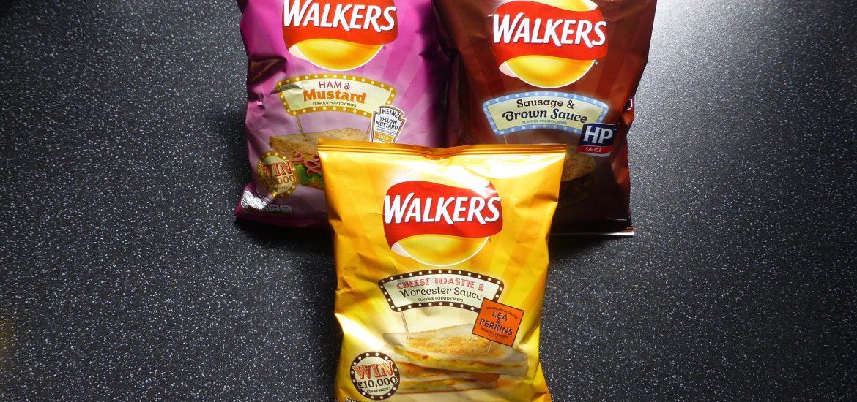Walkers & Heinz Sandwich Crisps