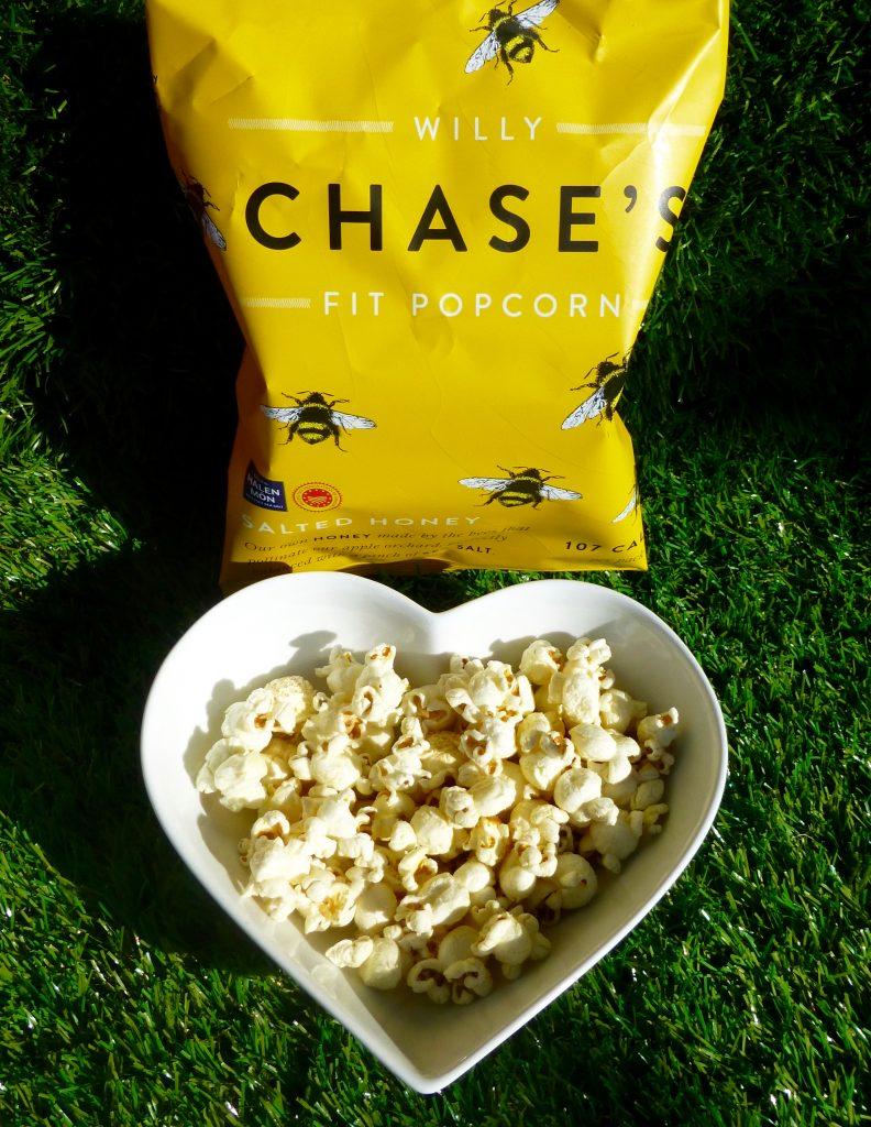 Willy Chase's Salted Honey Fit Popcorn