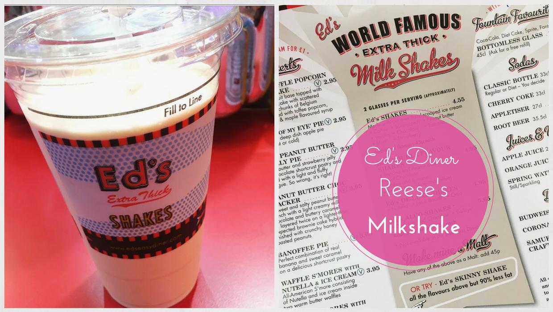 Ed's Diner Reese's Milkshake