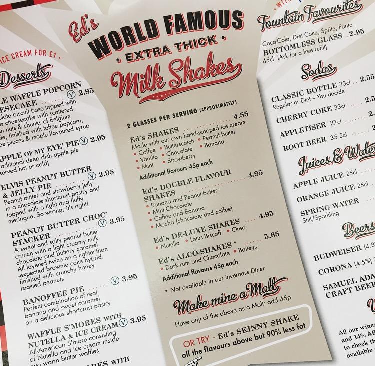 Eds Easy Diner Reeses Milkshake
