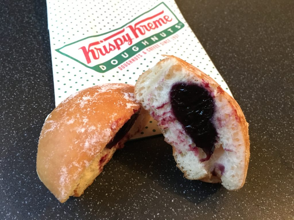 Krispy Kreme Vintage Powdered Blueberry