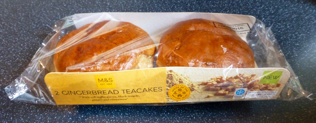 M&S Gingerbread Teacakes