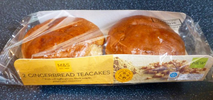M&S Gingerbread Teacakes