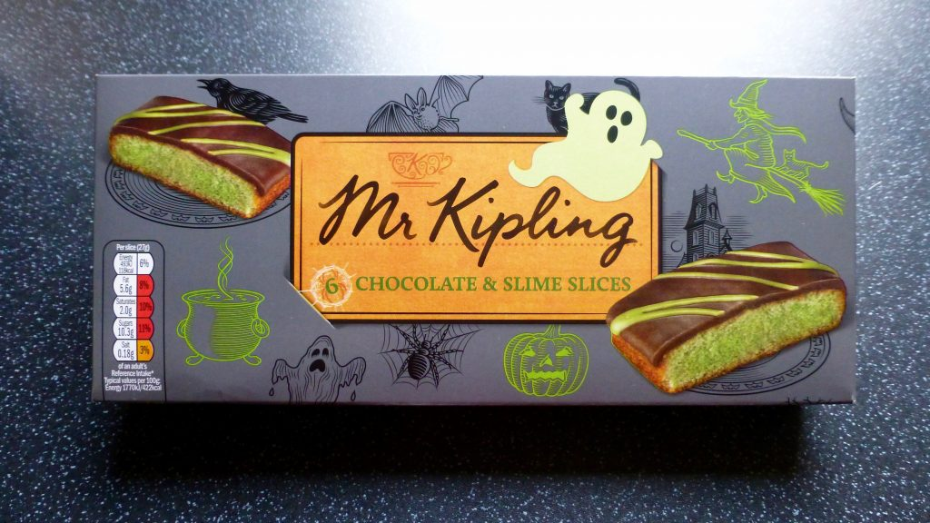 Monster Munchies: Mr Kipling Chocolate & Slime Slices