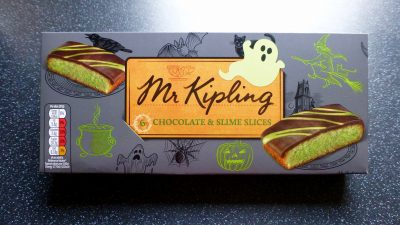 Mr Kipling Chocolate & Slime Slices