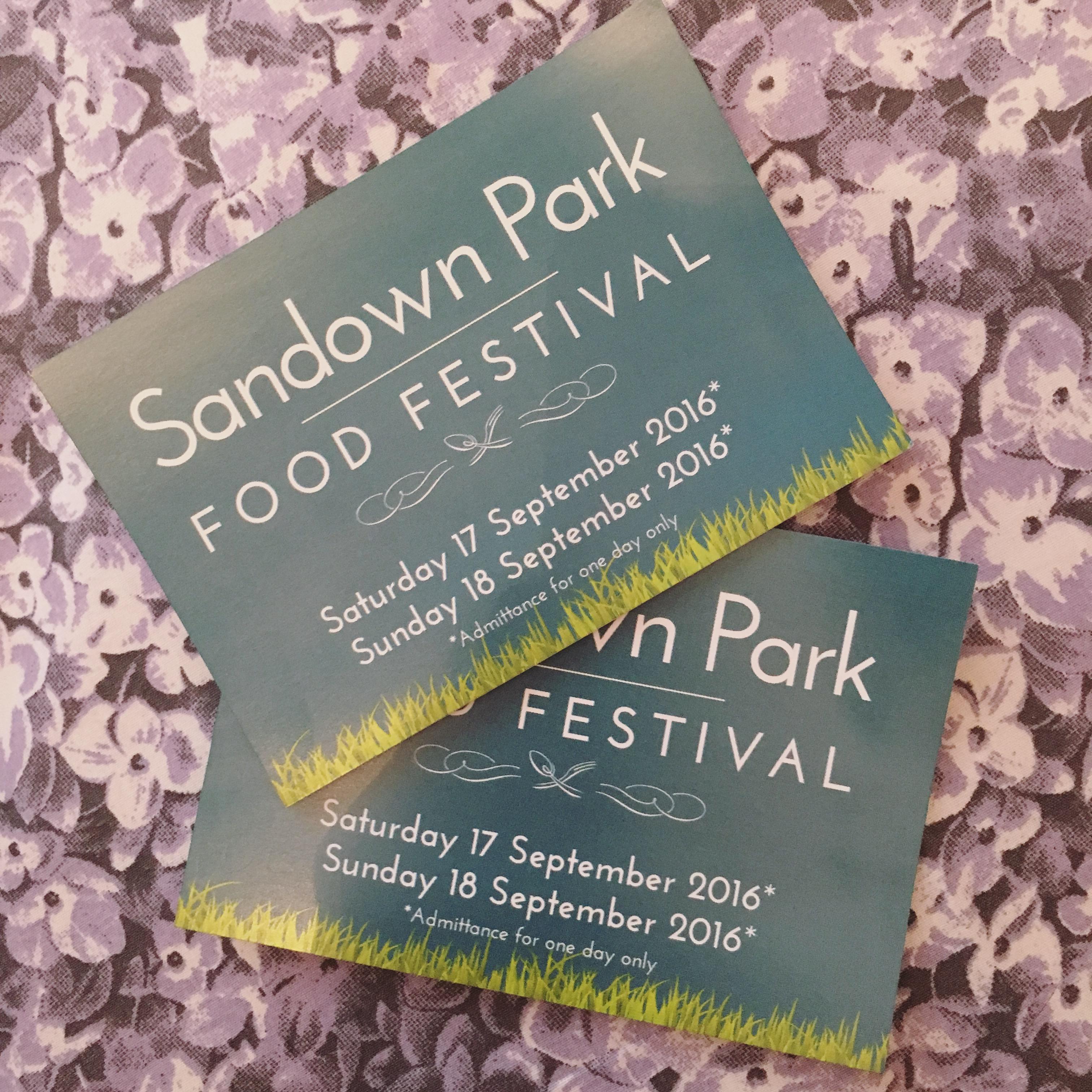 Sandown Park Food Festival