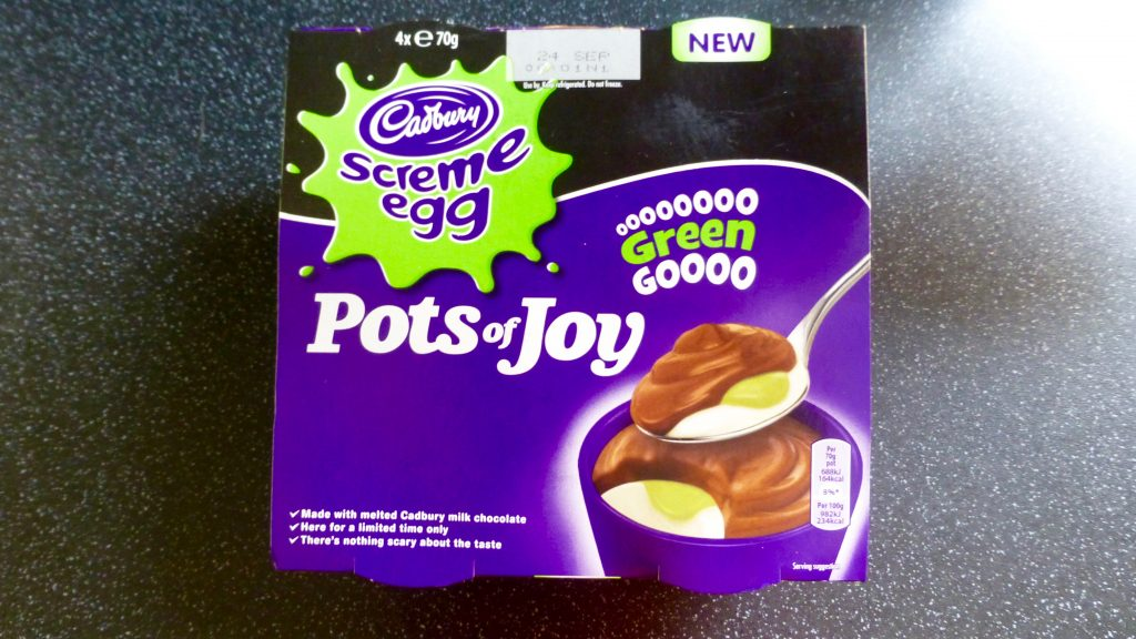 Monster Munchies: Cadbury Screme Egg Pots of Joy