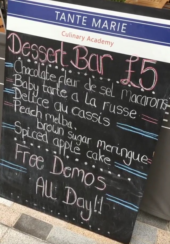 Tante Marie Dessert Bar
