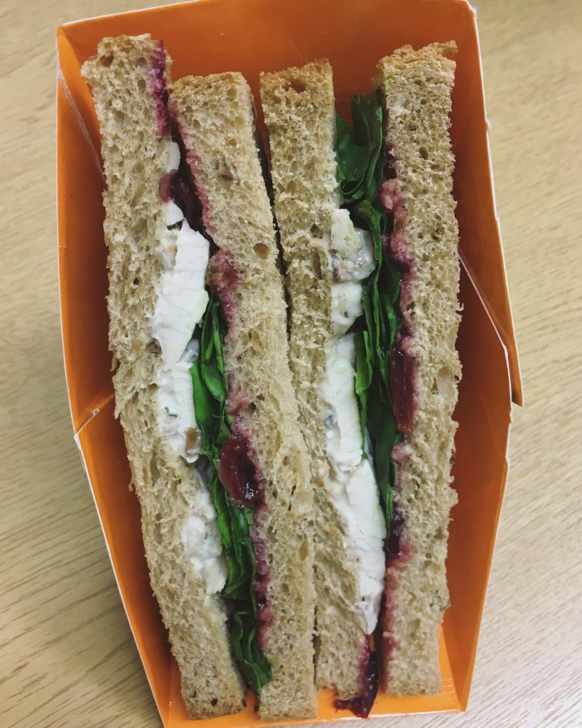 Boots Shapers Festive Sandwich