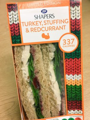 Boots Shapers Turkey, Stuffing & Redcurrant