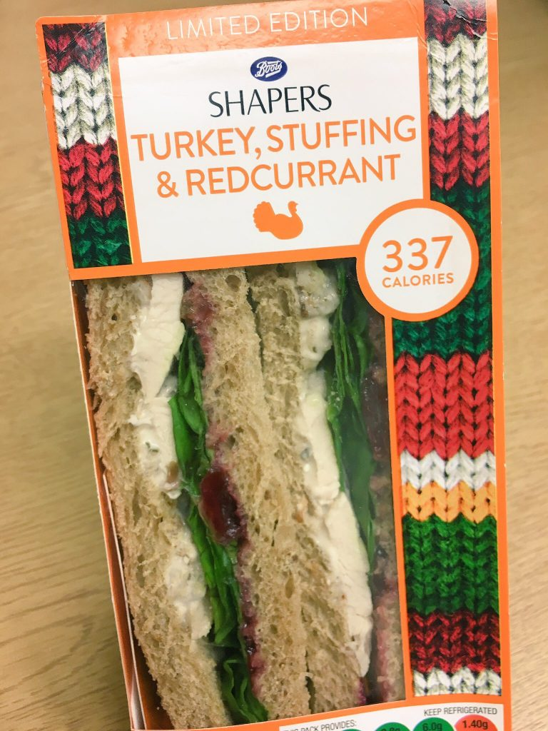 Battle of the Festive Sarnie: Boots Shapers Turkey, Stuffing & Redcurrant
