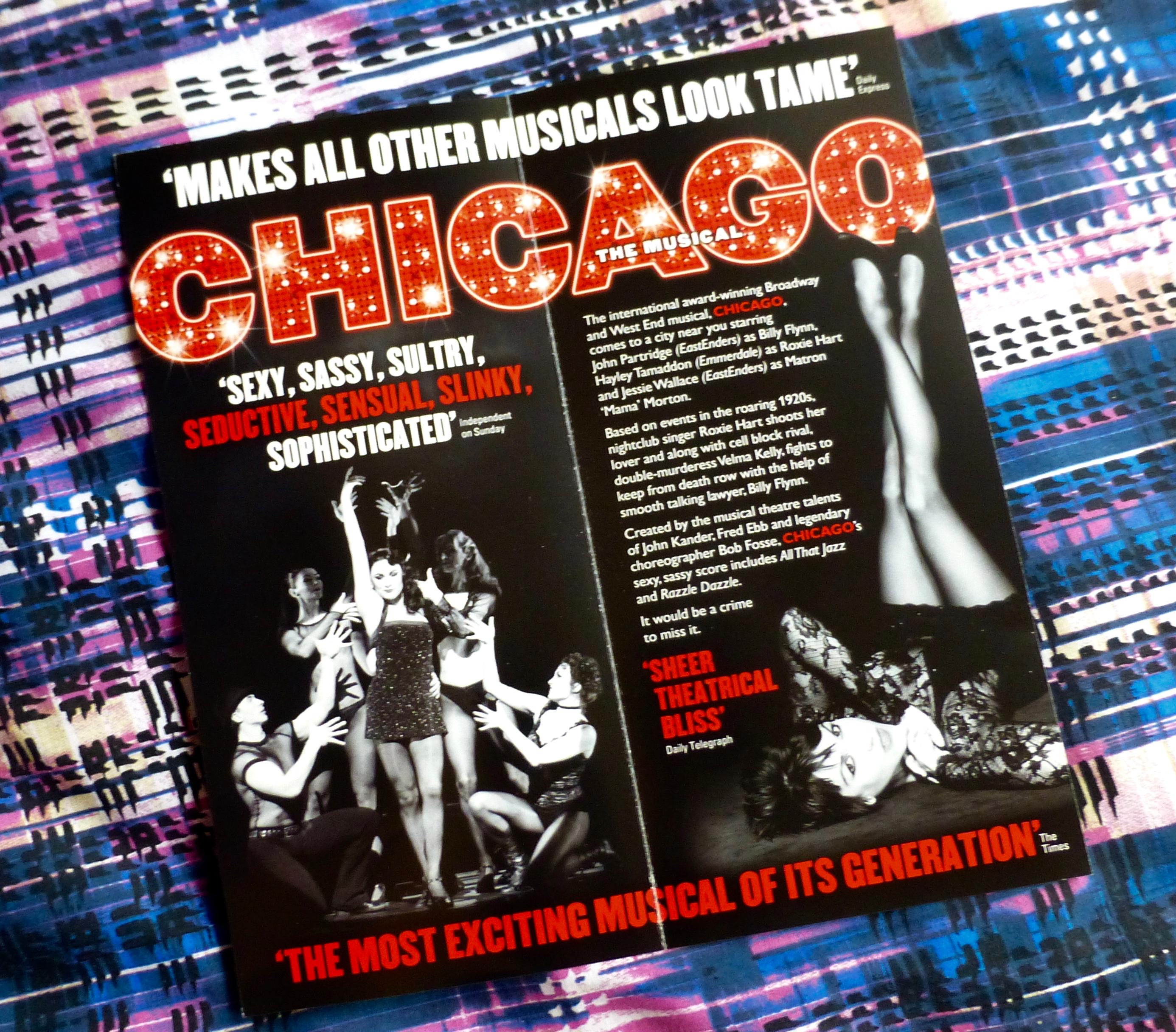 Chicago UK Tour