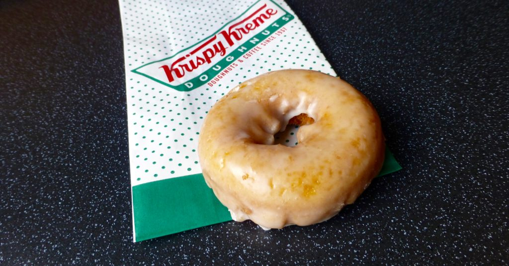 Monster Munchies: Krispy Kreme Vintage Pumpkin Spiced