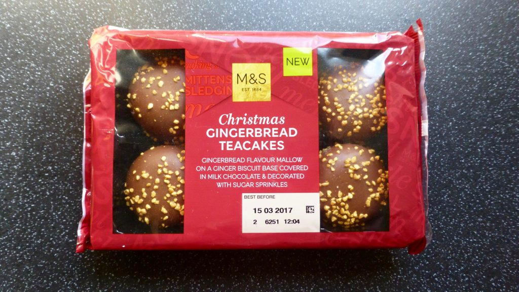 M&S Christmas Gingerbread Teacakes