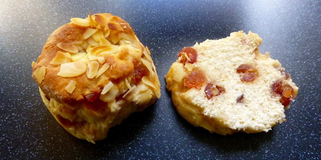 Waitrose Cherry Bakewell Scones