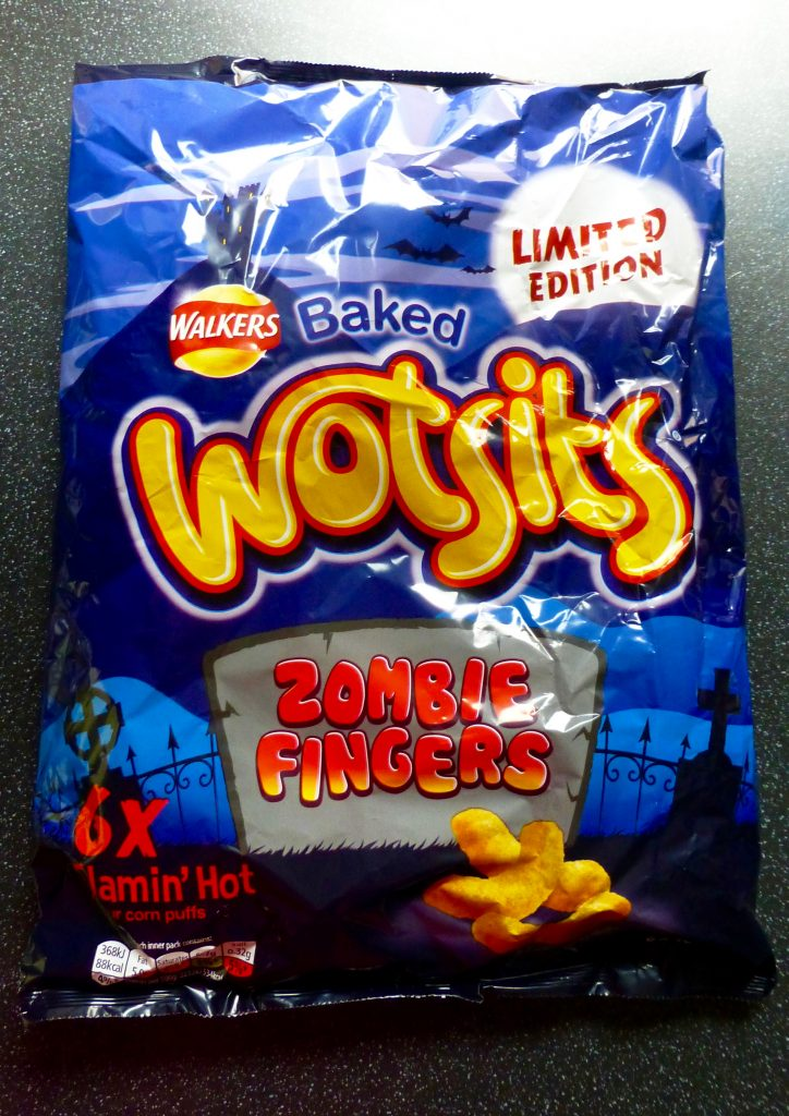 Monster Munchies: Wotsits Zombie Fingers