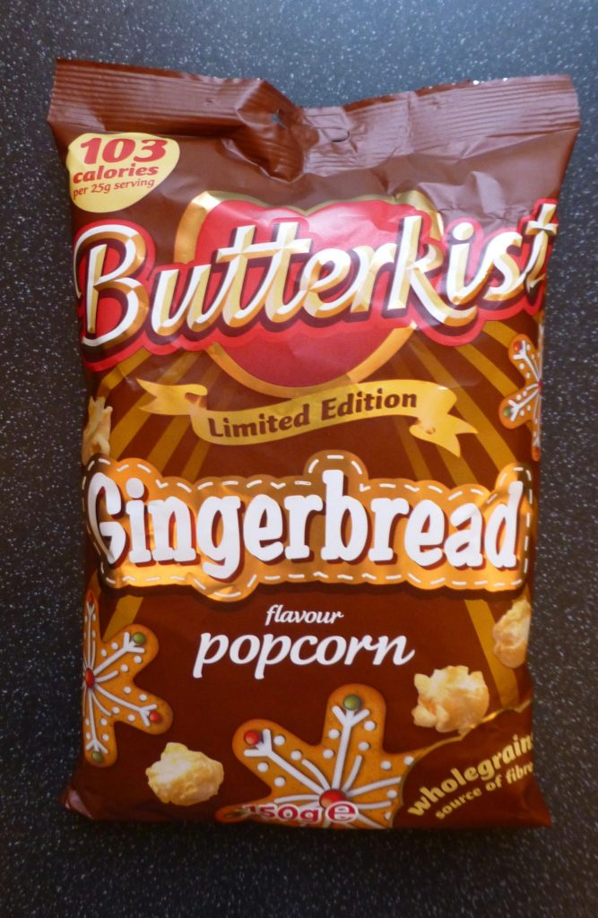 Christmas: Butterkist Gingerbread Popcorn
