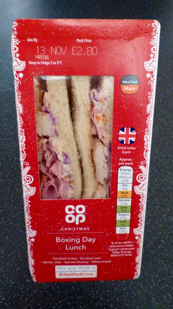 Battle of the Festive Sarnie: Co-Op Boxing Day Lunch