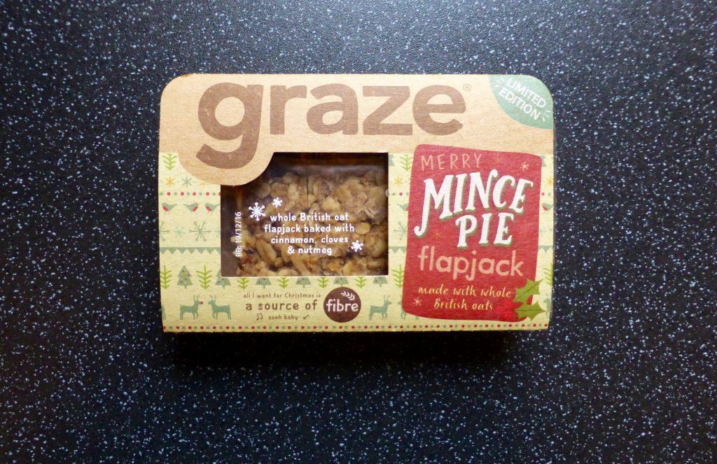 Christmas: Graze Mince Pie Flapjack
