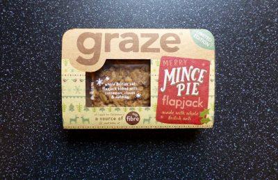 Graze Mince Pie Flapjack