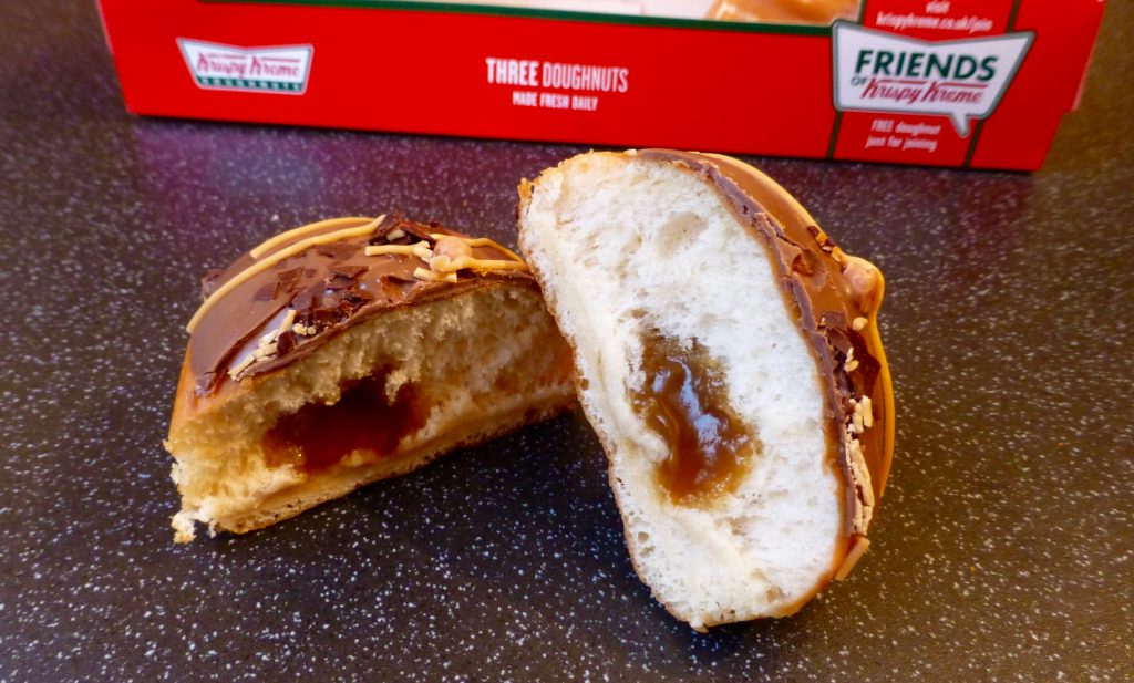 Krispy Kreme Bonfire Toffee