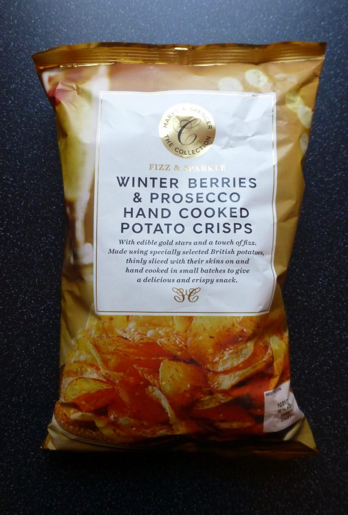 Christmas: M&S Winter Berries and Prosecco Crisps