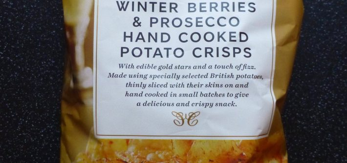 M&S Winter Berries and Prosecco Crisps