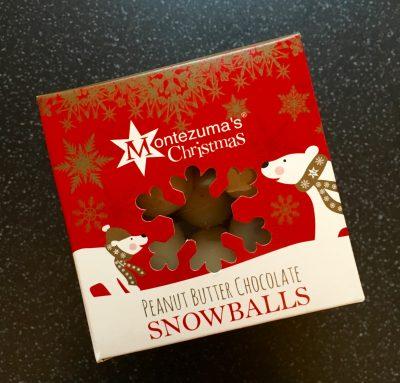 Montezumas Peanut Butter Snowballs