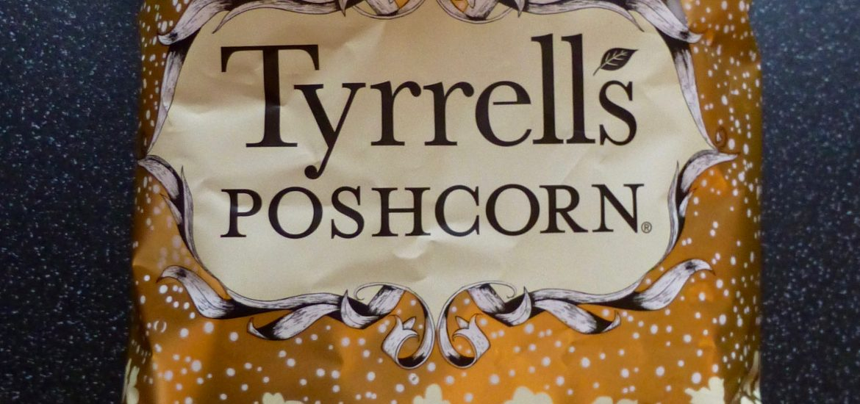 Tyrells Poshcorn Bellini Cocktail