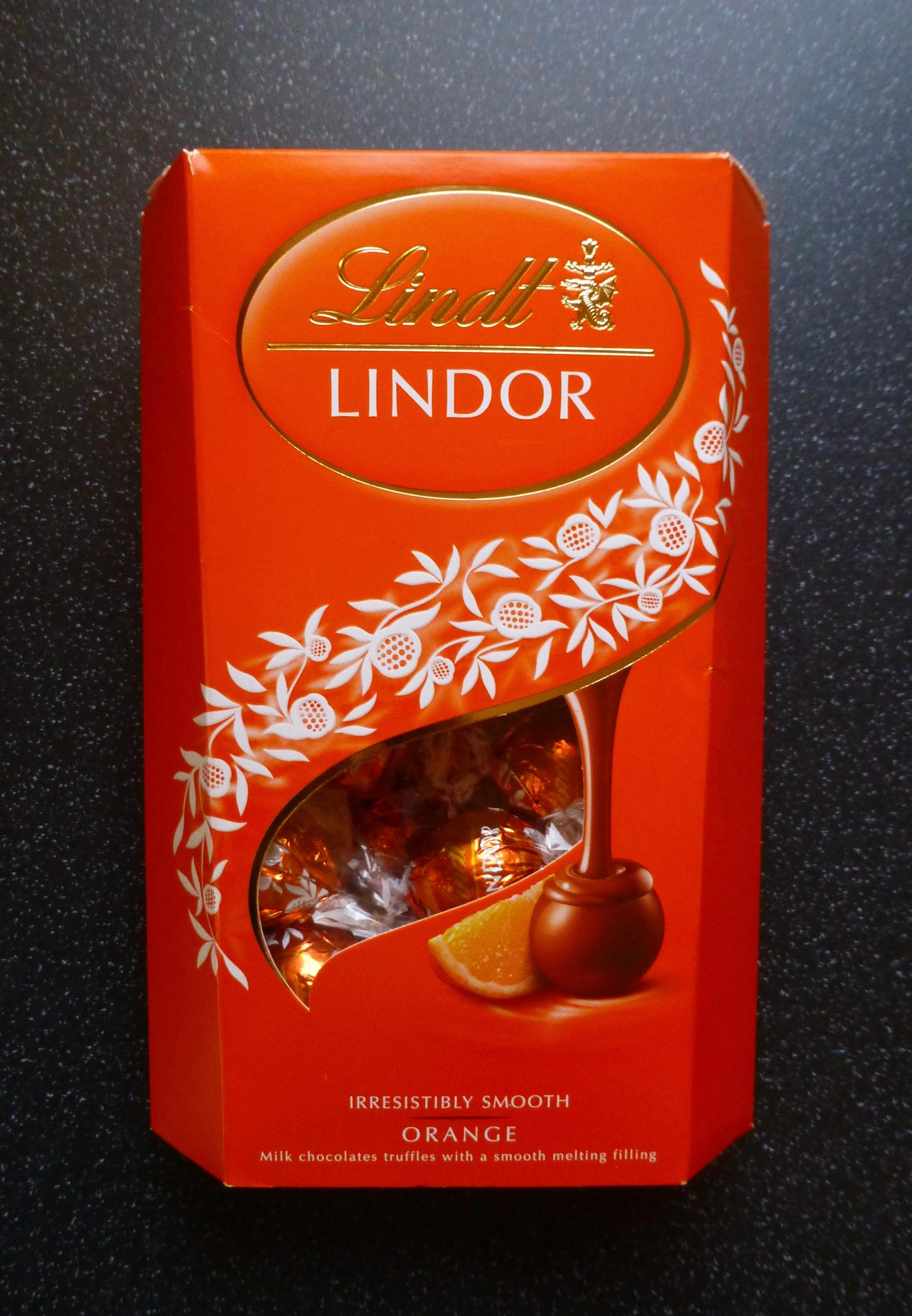Lindt Lindor Orange