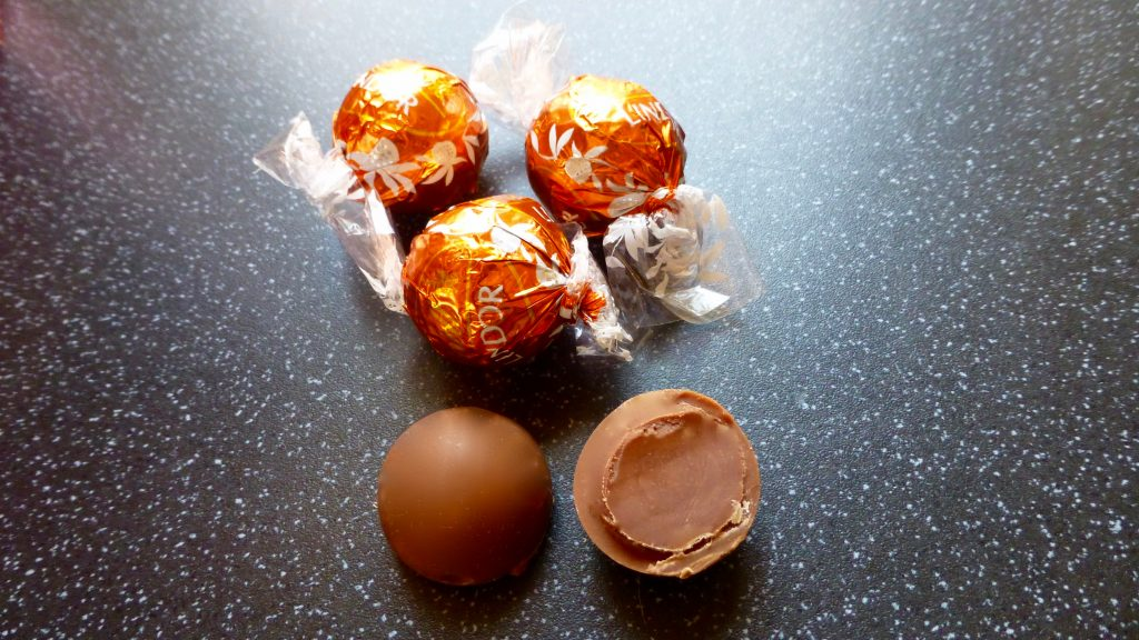 Christmas: Lindt Lindor Orange