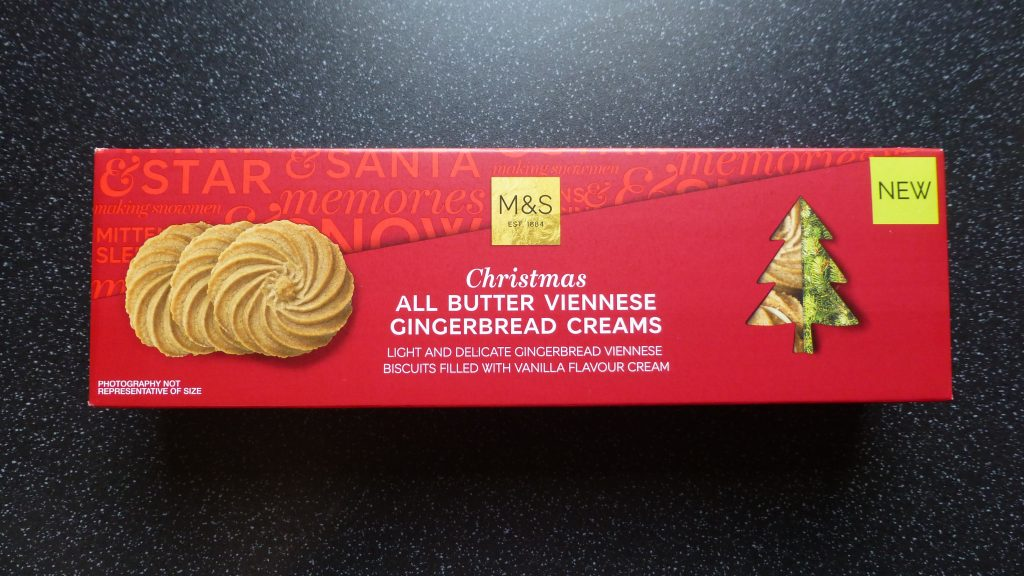Christmas: M&S Viennese Gingerbread Creams