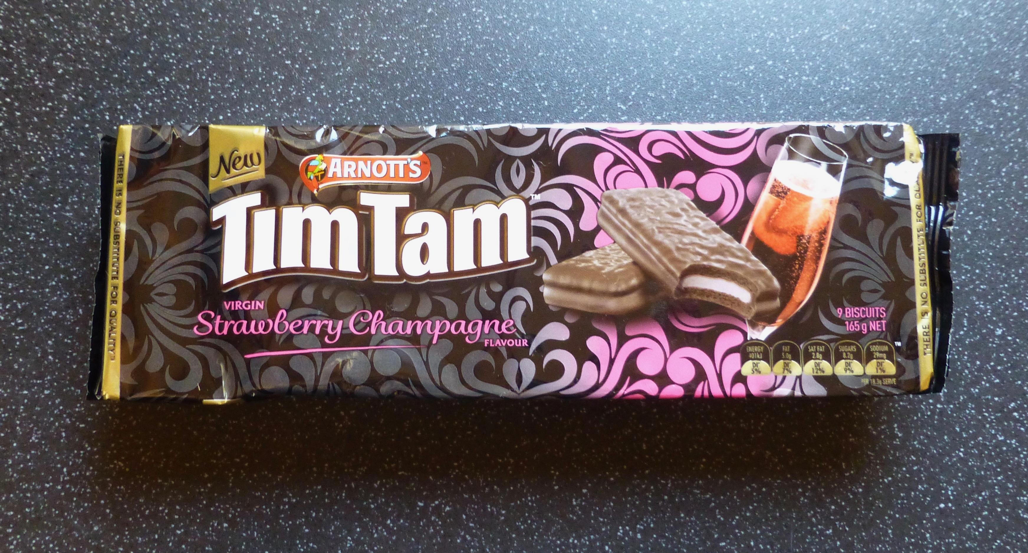 Tim Tam Strawberry Champagne