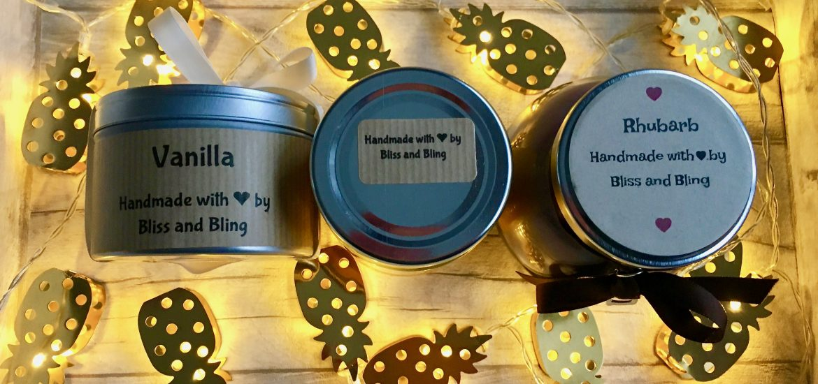 Bliss and Bling Candles