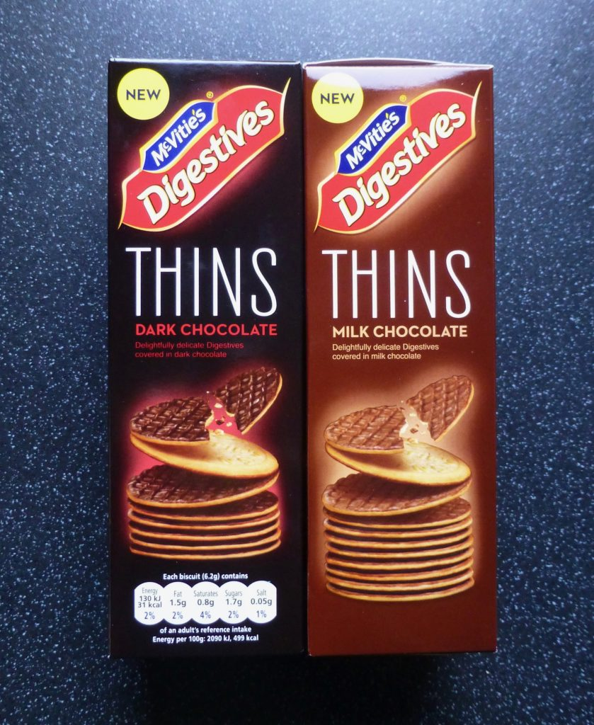 Mcvitie's Digestives Thins Milk and Dark Chocolate