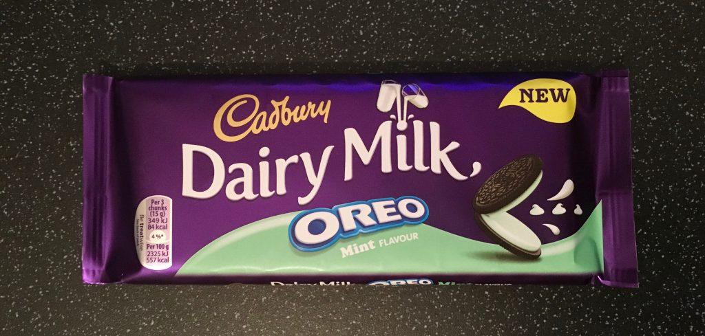 Cadbury Dairy Milk Mint Oreo