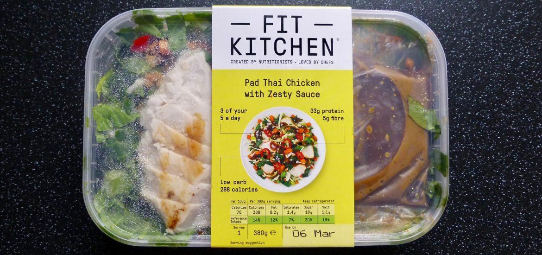 Fit Kitchen Pad Thai Chicken with Zesty Sauce