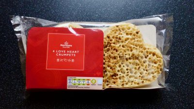 Love Heart Crumpets