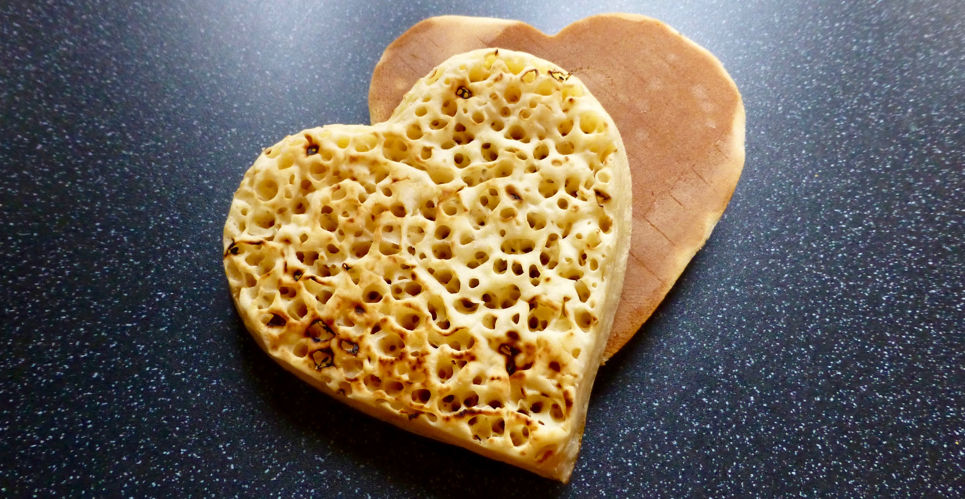 Morrisons Love Heart Crumpets