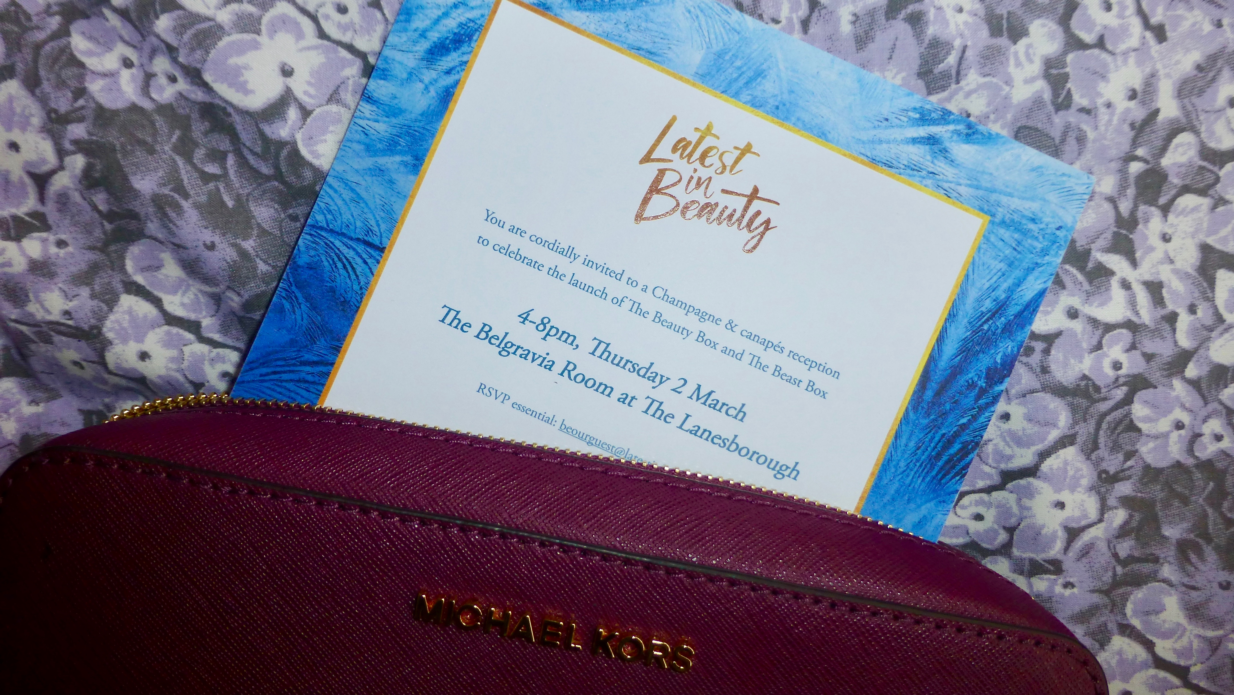 Latest in Beauty Beauty and the Beast Launch Event