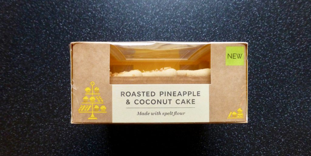 M&S Roasted Pineapple & Coconut Cake