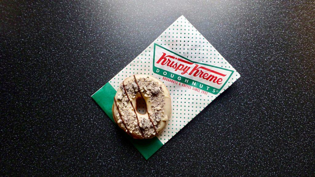 Krispy Kreme Hershey's Cookies 'n' Creme Ring