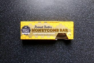 Mighty Fine Honeycomb Peanut Butter
