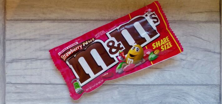M&Ms Strawberry Nut