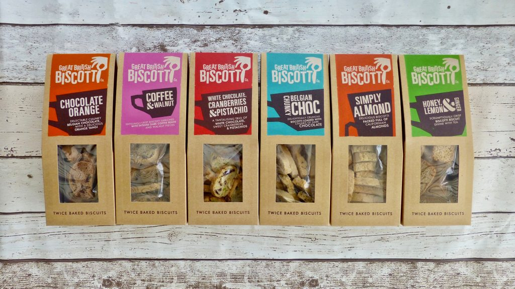Great British Biscotti Co. Sweet Like…