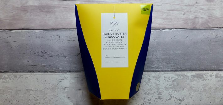 M&S Chunky Peanut Butter Chocolates